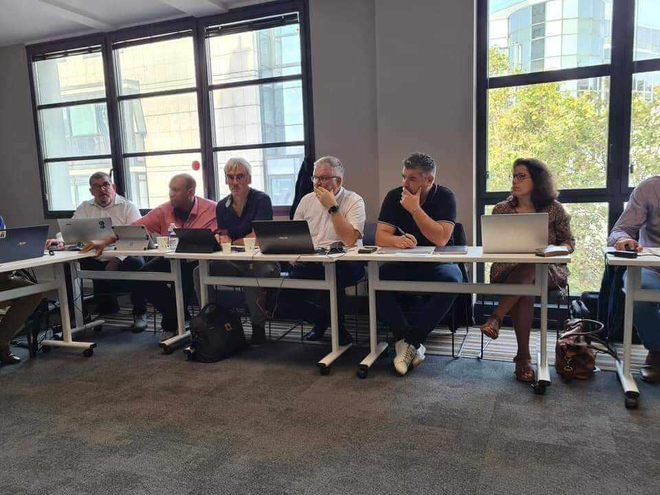 réunion de travail de la CFECGC