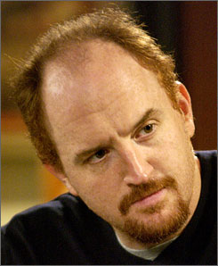 "Louis C.K. in FX channel's ""Louie"""