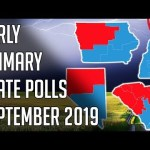 Early Primary States Polls September 2019 - 2020 Democratic Primary Polls | @politicalforecast 19