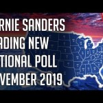 Bernie Sanders Leading Nationally - New Poll 2020 Democratic Primary - November 2019 | @politicalforecast 19