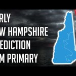 First 4 Primary & Caucus States Early Prediction - Early New Hampshire Prediction Democratic Primary | @politicalforecast 23