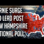 Bernie Surges to 10 Point Lead Nationally - New National Democratic Primary Poll - February 2020 | @politicalforecast 20