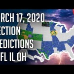 🎯 My Final March 17, 2020 Primary Predictions - AZ, FL, IL, OH Predictions Democratic Primary 2020 20