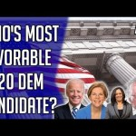 Who's Most Favorable Democratic 2020 Candidate? - Democratic Primary Polls - July 2019 19