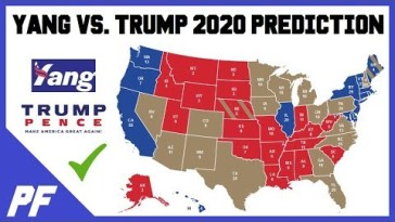 Andrew Yang vs. Donald Trump 2020 Map Prediction - 2020 Electoral Map Projection 11