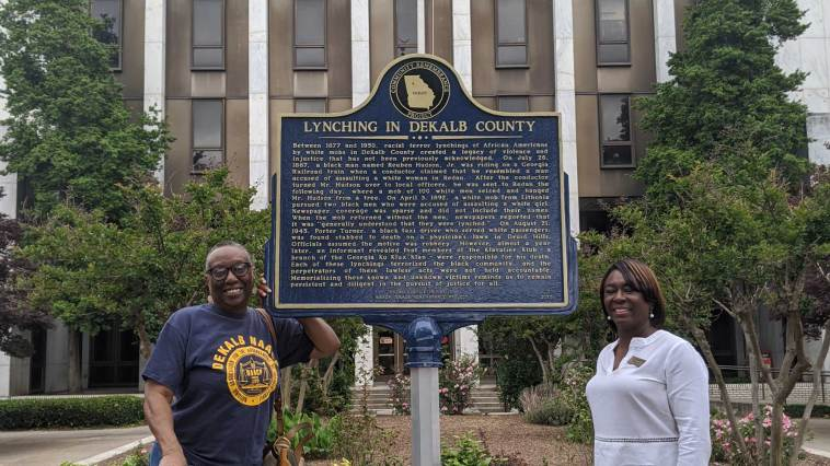 DeKalb County Memorializes Four Victims of Racial Terror Lynching 3