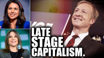 A Billionaire Could Possibly Take Gabbard or Williamson's Spot at the Next Debate 11