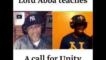 Lord Abba calls for unity 18