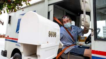 The White House Blocked USPS Plans to Deliver Masks to Every Household 24