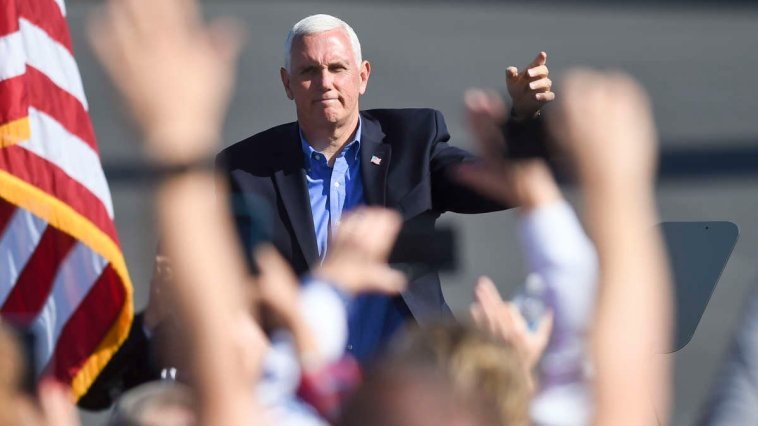 Pence Was Exposed to COVID From Top Aide. He Plans to Keep Campaigning Anyway. 3