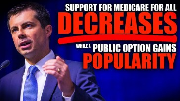 Buttigieg and Biden Are Successfully Driving DOWN Support for Medicare For All 8