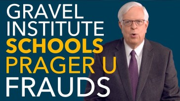 Prager U is RATTLED After Gravel Institute Launches Initiative to Take Them On 11