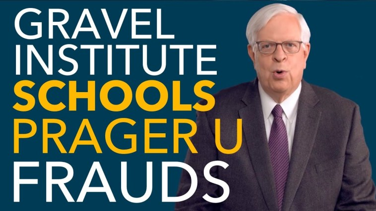 Prager U is RATTLED After Gravel Institute Launches Initiative to Take Them On 2