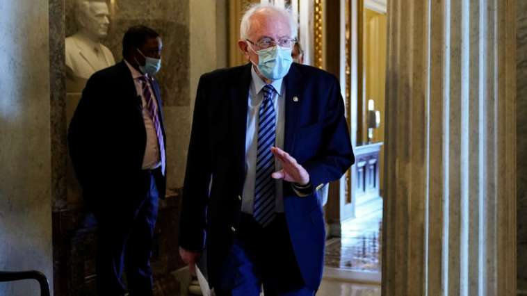 """Sanders Wants to """"Act Now"""" on COVID Relief But McConnell Is Holding Up Senate 11"""