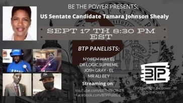 Interview with Tamara Johnson-Shealy. ADOS's first Senatorial candidate 7