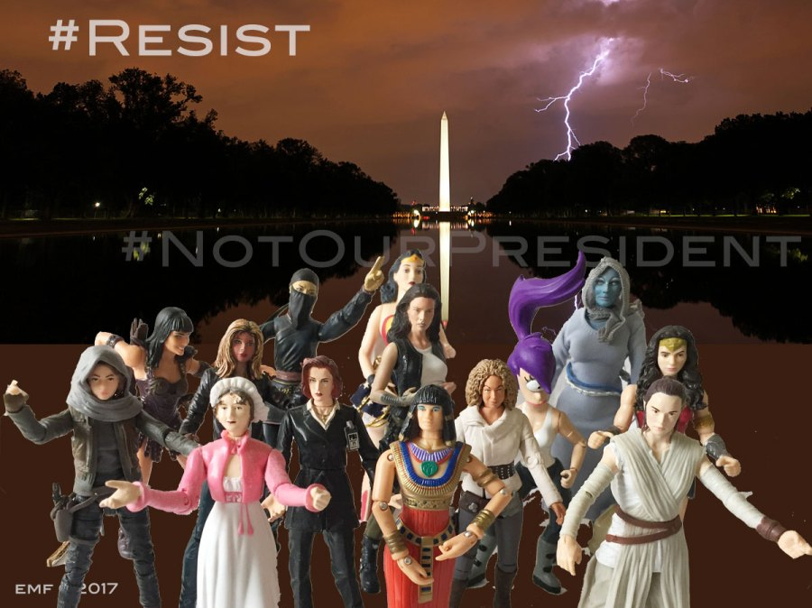 Action Chicks March on Washington