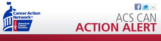 ACS CAN Action Alert Email Header
