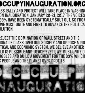 Occupy Inauguration Date and Time