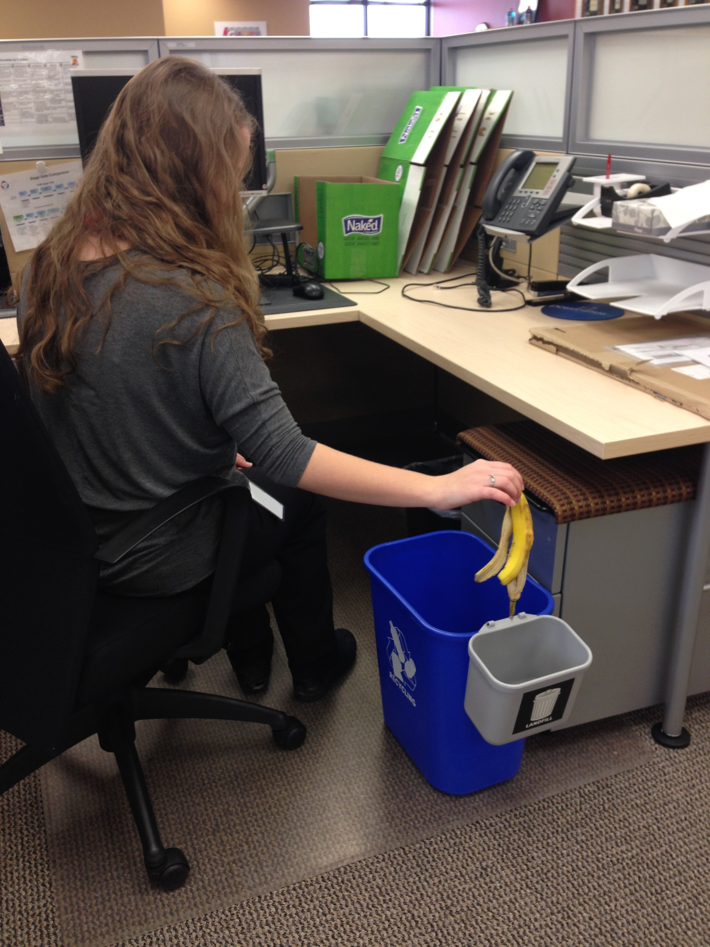 Office Recycling 101 Shrink The Trash Receptacle