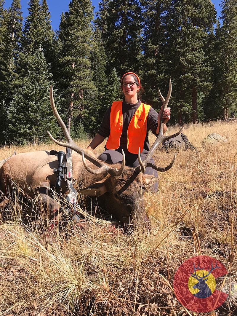 2019 First Rifle Bull Elk