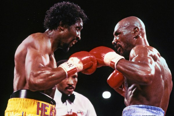 GREAT MOMENTS IN ACTION HISTORY: HAGLER VS. HEARNS – THE ...