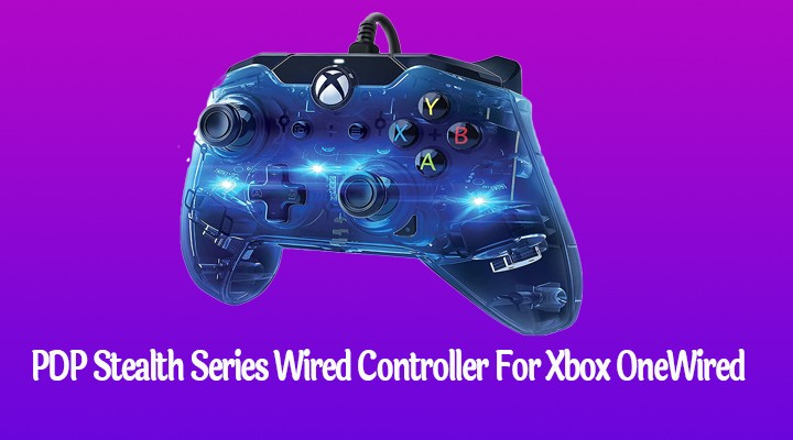 PDP Stealth Series Wired Controller For Xbox OneWired Controller For Xbox One