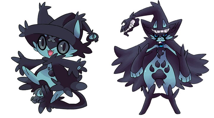 Psychic Cat Pokemon