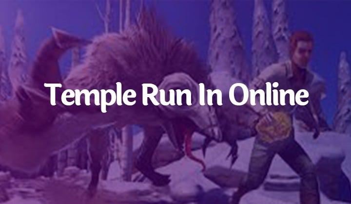 Temple Run In Online