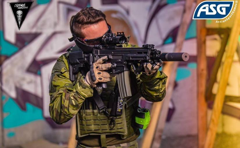 ASG's CZ 805 BREN Assault Rifle