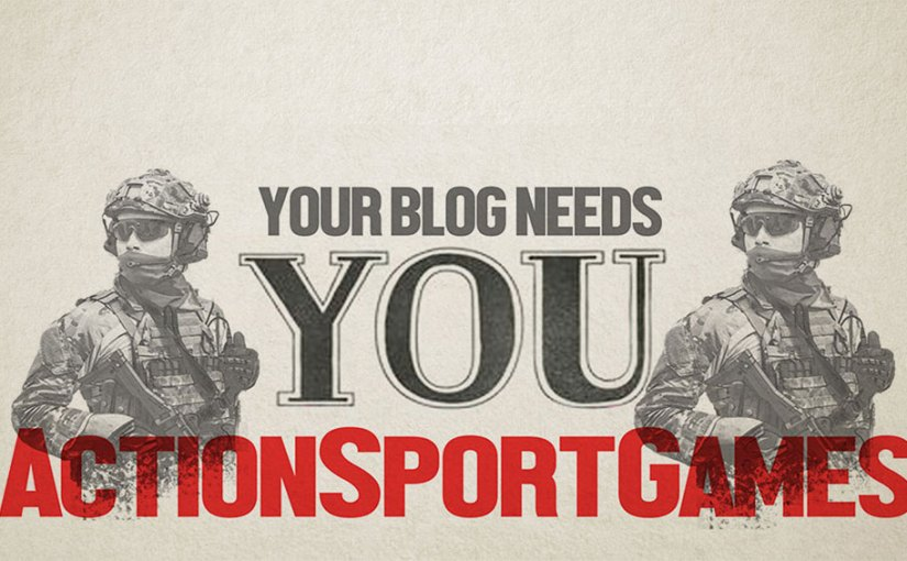 THE BLOG NEEDS YOU!