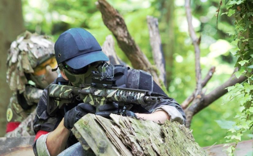 Andy Jenkins' Armalite M15 Carbine
