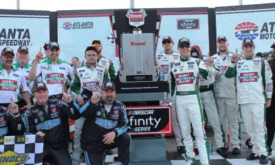 KEVIN HARVICK WINS RINNAI 250