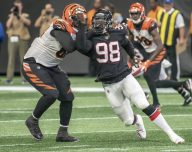 Takk Mickinney Defensive End Atlanta Falcons