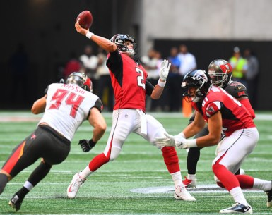 Atlanta Falcons vs Tampa Bay Bucs