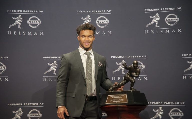 Kyler Murry take home the Heisman Trophy