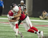 Atlanta Falcons win big 40-14
