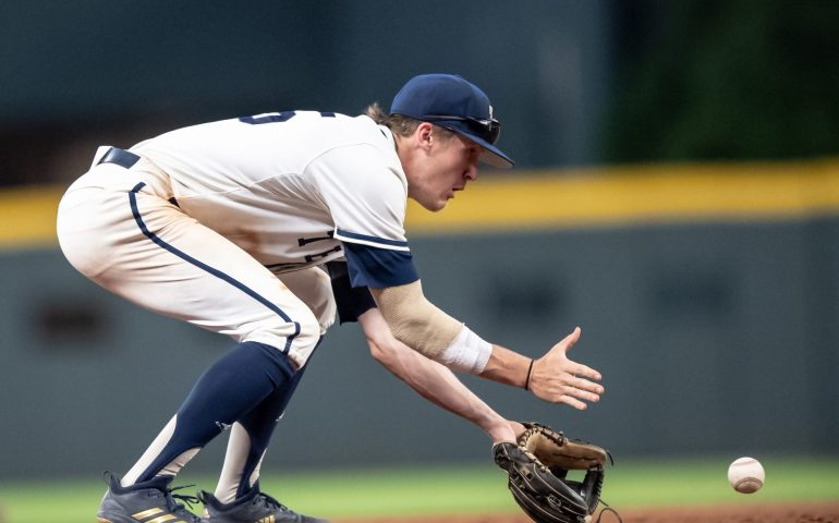 Georgia Tech second baseman