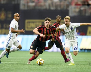 Emerson Hyndman scored the game winner for Atlanta United against San Jose Earthquakes