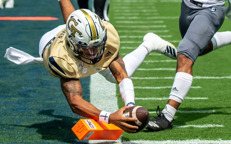 Georgia Tech stunned by the Citadel #togetherweswarm, #404theculture, #yellowjackets, #Georgiatech
