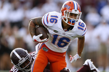 Freddie Swain makes a catch for the Florida Gators #secfootball, #gators, #theswamp