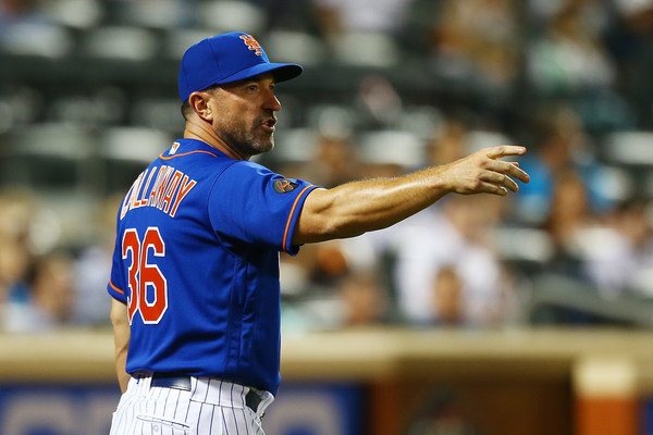 Mickey Callaway was fired by the Mets