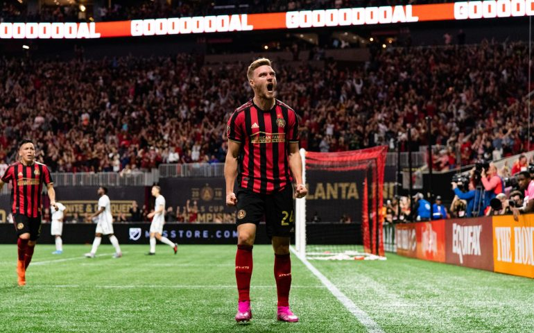 Julian Gressel will continue to play for Atlanta heading into 2020 as Atlanta United picked up his contract option