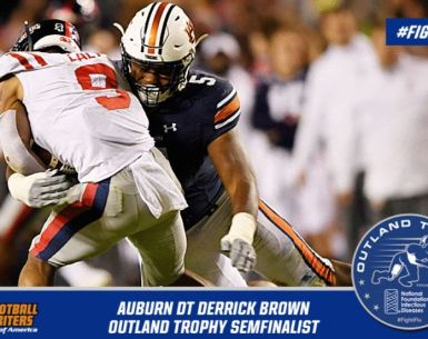 Auburn's Derrick Brown 2019 Outland Trophy Candidate