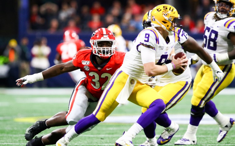 LSU beat Bulldogs in the 2019 SEC Championship Game#UGA,#Bulldogs, #Dawgs, #secchampionship