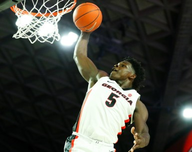 Anthony Edwards throws it down against North Carolina Central #UGA,#Bulldogs, #Dawgs,