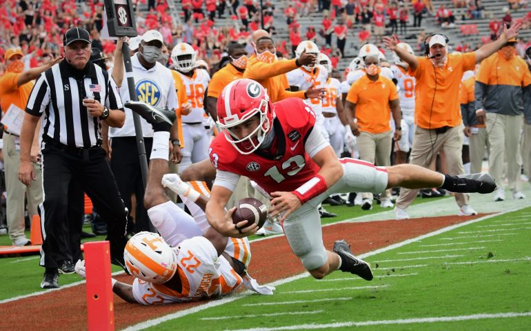 #uga, #Bulldogs, #Dawgs, Georgia Bulldogs defeat Tennessee