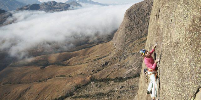 Free climbing Madagascar's daunting Mora Mora mountain