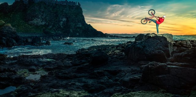 Game of Thrones locations in Northern Ireland serve as BMX backdrop