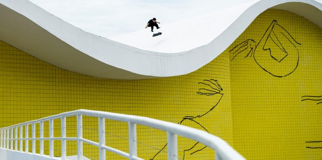 Concrete dreams a reality for skaters Barros and Peres