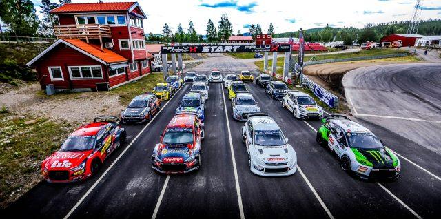 PHOTO ALERT: Kristoffersson wins 'All-Star' RallyX Nordic Supercars